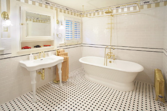 Những mẫu gạch trang trí phòng tắm đẹp được ưa thích nhất