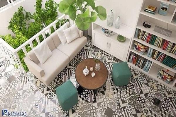 chọn kích thước gạch mosaic theo sở thích cá nhân