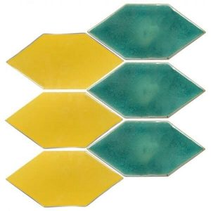 kích thước gạch mosaic lục giác
