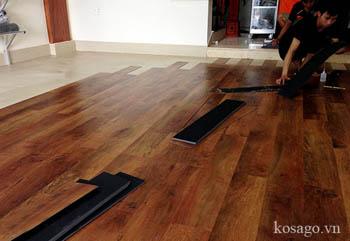 Hướng dẫn thi công sàn nhựa giả gỗ