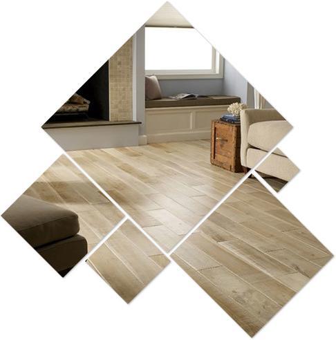 Sàn nhựa giả gỗ trong nhà SPC 6048 - 8