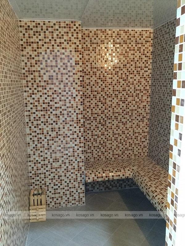 Thi công công trình gạch mosaic