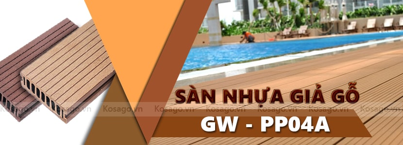 Sàn nhựa giả gỗ GW – PP04A