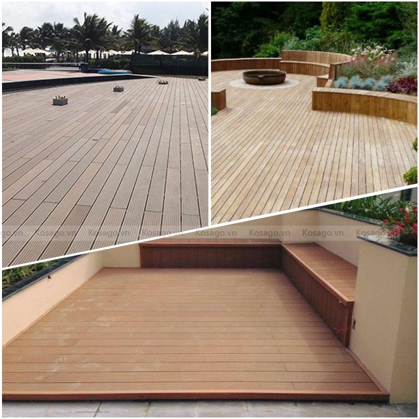Ứng dụng sàn nhựa giả gỗ GW – PP04A