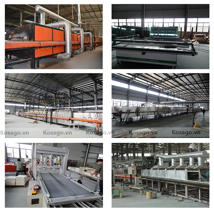 Xưởng sản xuất gạch mosaic BV012