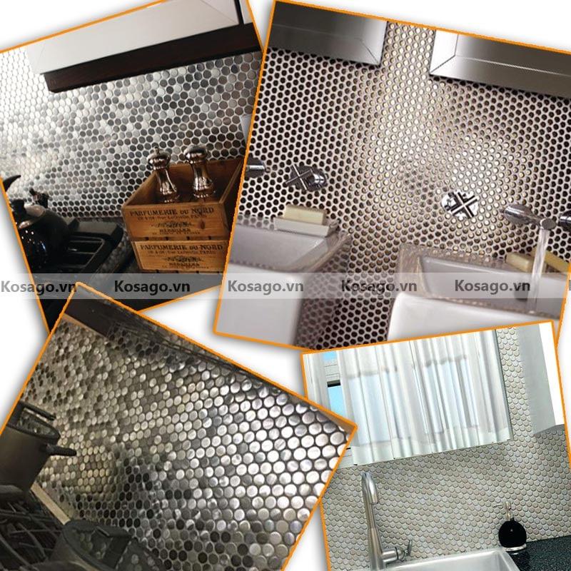 Ứng dụnggạch mosaic BV014 trong cuộc sống