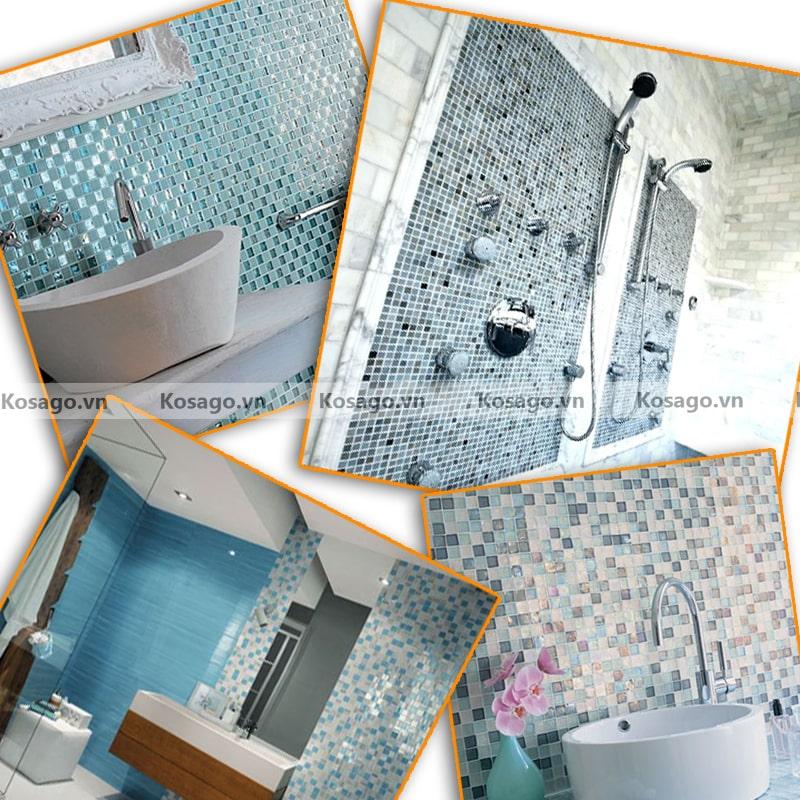 Ứng dụng của gạch trang trí BV004