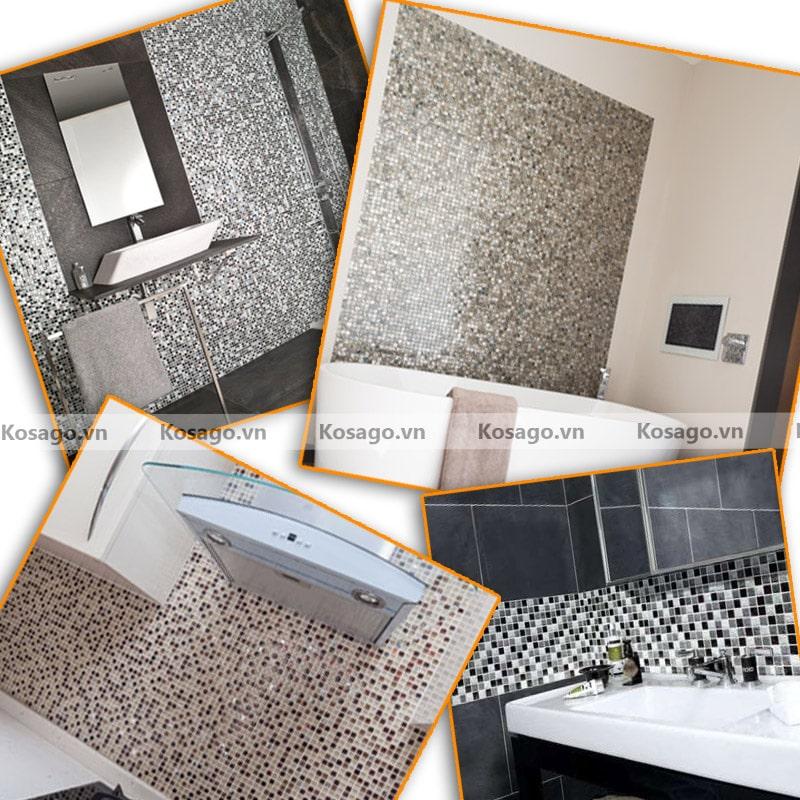 Ứng dụng của gạch mosaic trang trí BV007
