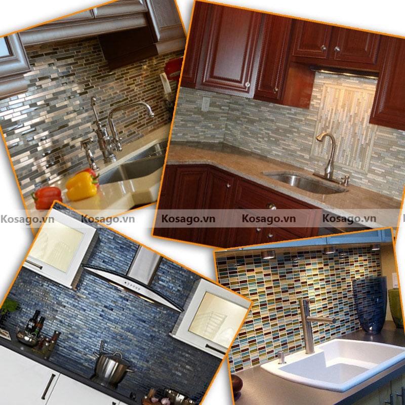 Ứng dụnggạch mosaic BV017 trong cuộc sống