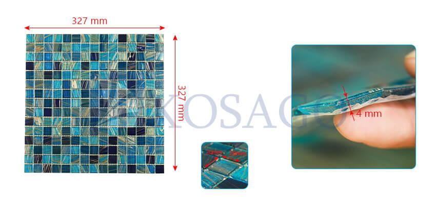 Gạch mosaic NO2009