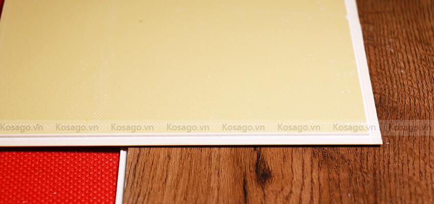 Độ dày sàn nhựa giả gỗ trong nhà bd2303