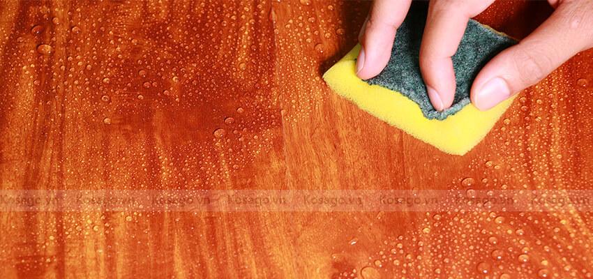 Sàn nhựa giả gỗ trong nhà BD2309 dẻ dàng lau chùi