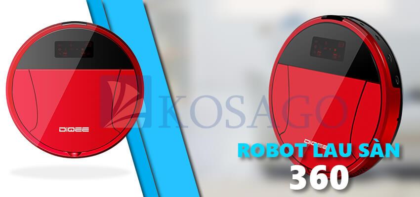 Robot hút bụi lau sàn nhà A360