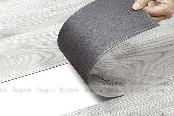 ứng dụng sàn nhựa tự dính