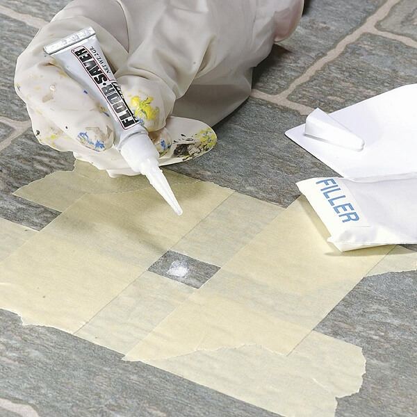 Cách xử lý sàn nhựa bị trầy xước