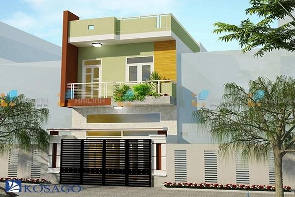 Gạch mặt tiền nhà đem lại tính thẩm mỹ cao