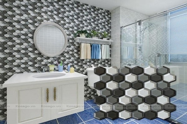Gạch mosaic chống ẩm cực tốt