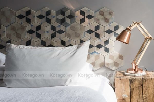 Đi tìm vẻ đẹp của gạch mosaic lục giác