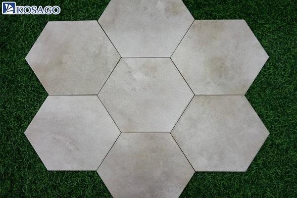 Gạch mosaic lục giác cân đối