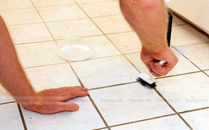Cách tẩy xi măng bằng giấm