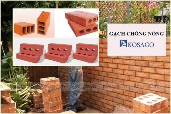 Gạch chống nóng – Giáp pháp tối ưu cho nhà Việt