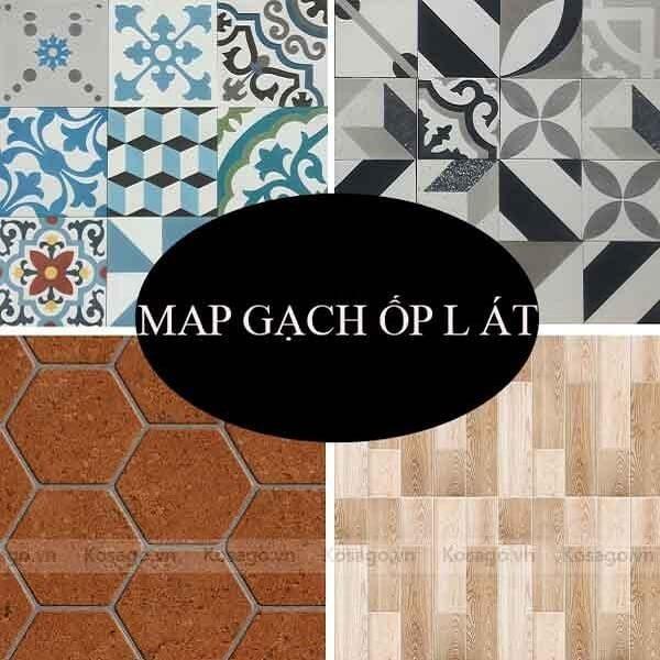 Map gạch là gì? 25+ mẫu map siêu đẹp ốp lát