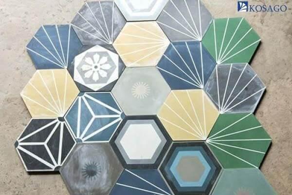 mẫu texture gạch bông