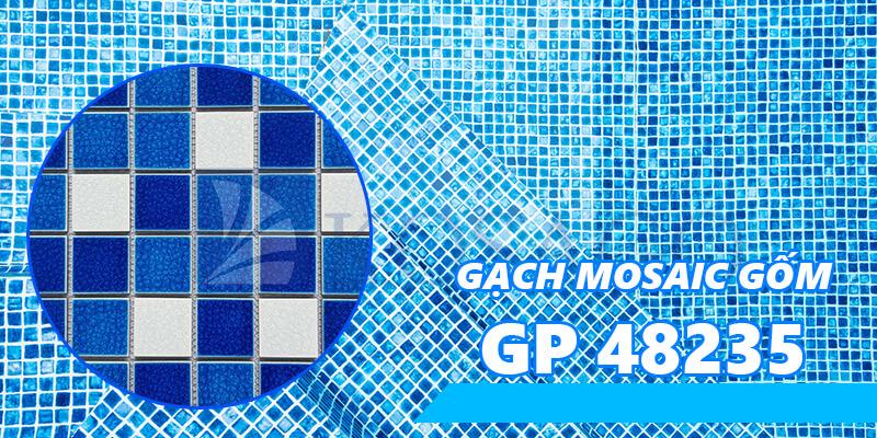 Gạch mosaic gốm GP48235