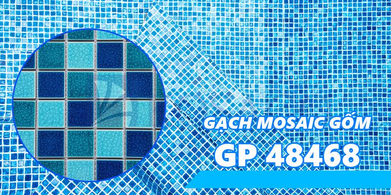Gạch mosaic gốm GP 48468