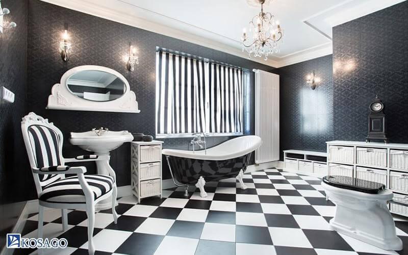 kinh nghiệm chọn gạch lát theo không gian phòng vệ sinh nhà tắm