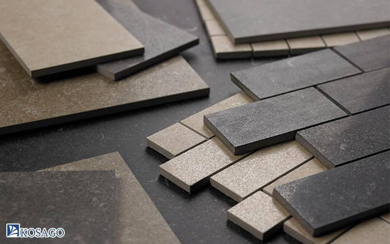 kinh nghiệm chọn gạch lát theo vật liệu