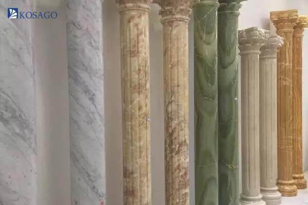 tiêu chuẩn lựa chọn gạch ốp cột nhà theo loại hình cột