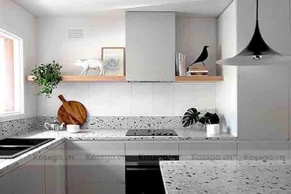 Ứng dụng lát phòng bếp