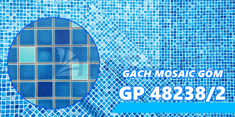 gạch mosaic gốm GP 48238/2