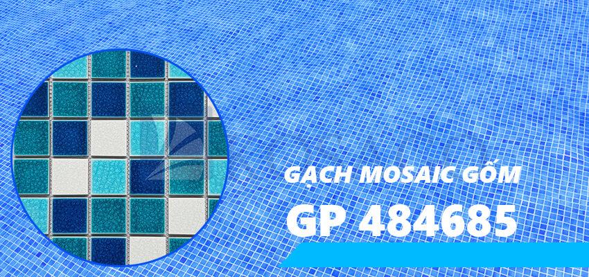Gạch mosaic gốm GP 484685