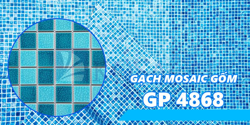 Gạch mosaic gốm GP 4868