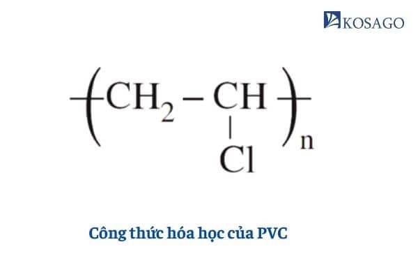 công thức hóa học của pvc