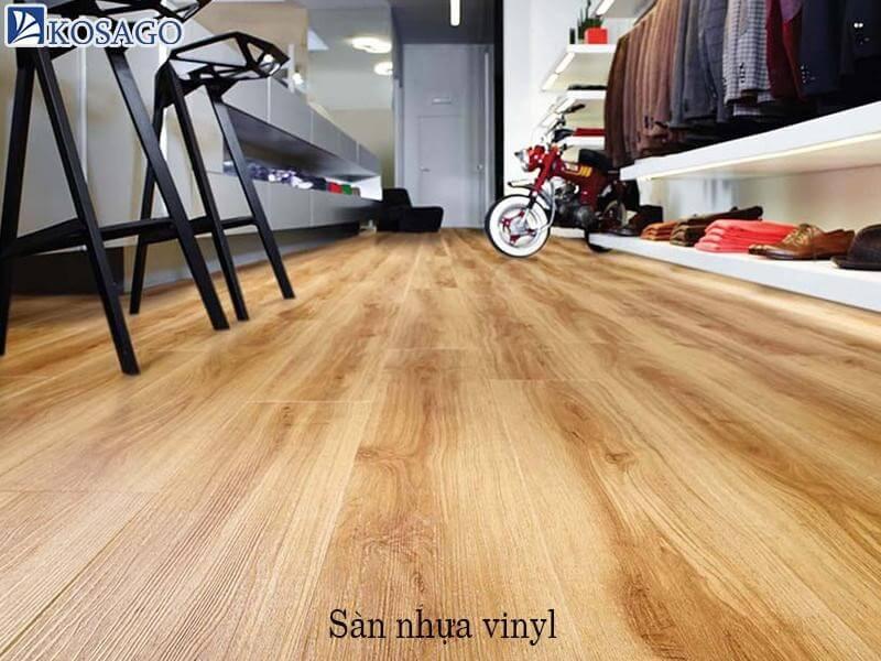 sàn nhựa từ vinyl