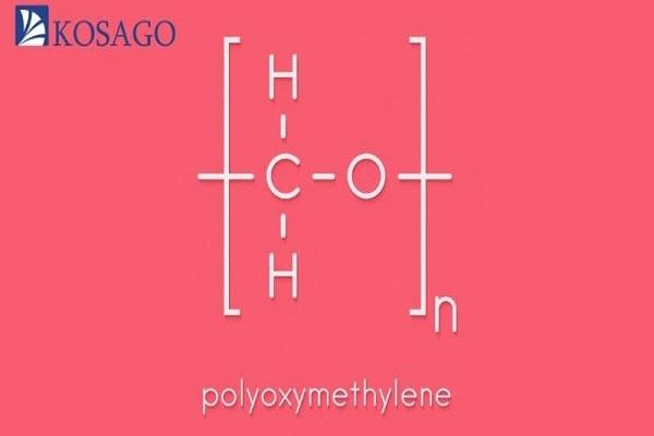công thức hóa học nhựa POM