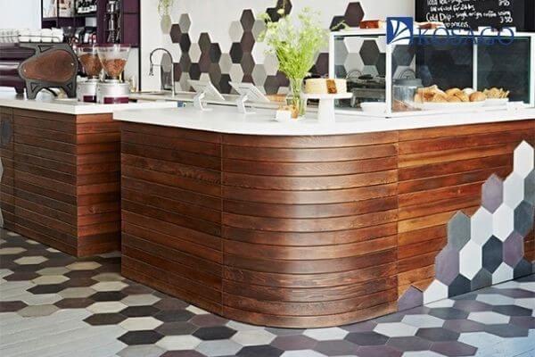 kinh nghiệm chọn gạch lát nền quán cafe