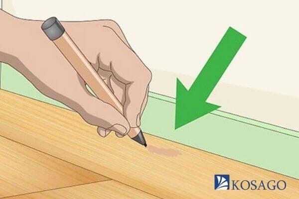 cách xử lý sàn gỗ bị xước