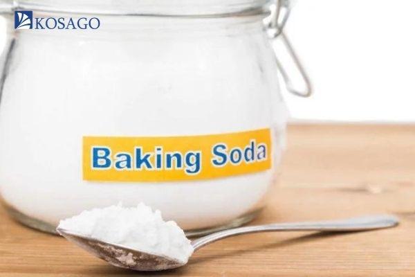 xử lý những vết dầu bằng banking soda