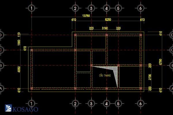 cách tính khối lượng bê tông móng sàn