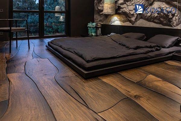 cải tạo với sàn gỗ