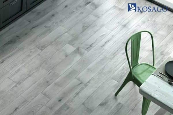cải tạo với sàn nhựa giả gỗ