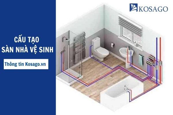 Cấu tạo sàn nhà vệ sinh – Cách thiết kế nhà vệ sinh hợp phong thủy