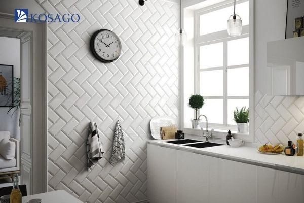 màu trắng giúp cho căn phòng có điểm nhấn hơn