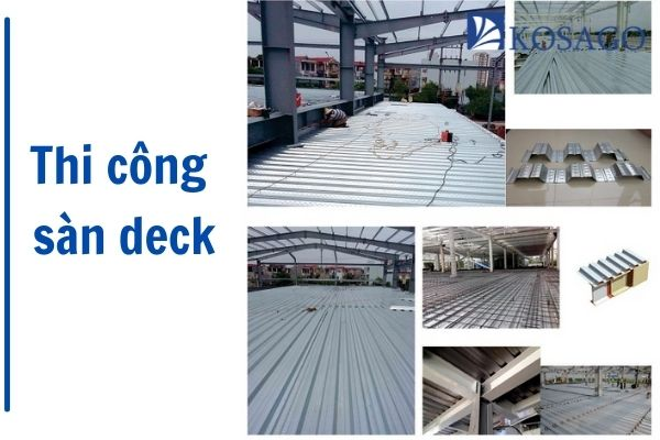 quy trình thi công sàn deck