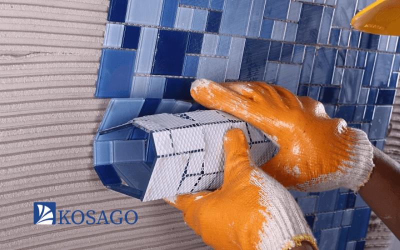 Cách dán gạch mosaic sao cho đúng chuẩn