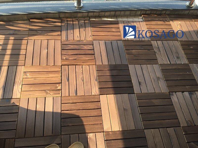 Sàn gỗ nhựa ban công hiện nay có những dạng nào